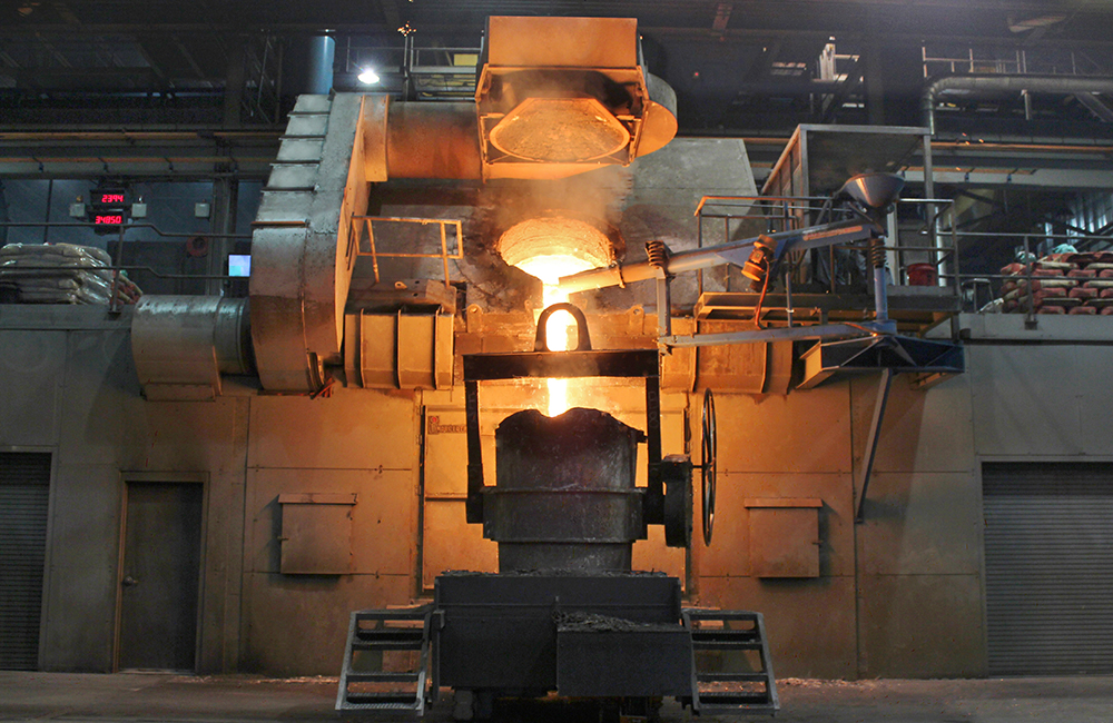 Inductotherm Steel Frame Furnaces
